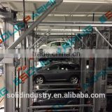 Integrated Modules For Simple Wiring Double Car Parking System