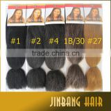 Wholesale alibaba 48inch 60g NAPPY ANNY SUPER BRAID synthetic hair extension Super Jumbo braid