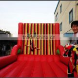 hot sale inflatable velcro suit wall games/ inflatable stick velcro wall                                                                         Quality Choice