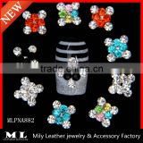 New style colorful rhinestone nail arts design nail accessories MLPNA882