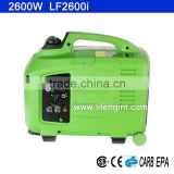 2600W rated power EPA CARB CSA CE GS certification gasoline inverter portable generator LF2600i                                                                         Quality Choice