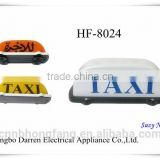 DC 12V Taxi Sign Roof Light Top Sign Light Taxi Top Lamp Box with magentic