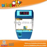 Hot selling toy crane game machine children's alarm clock kids play toys for 2015 new product