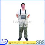 Waterproof breathable fishing clothes hip Chest waders