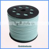 Wholesale Blue Color Flat Suede Cord For Bracelets Making SC-1085