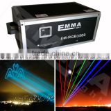 RGB Analog Laser System , 50W RGB Laser show light for stage , club and Christmas