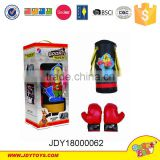 Plastic boy sport boxing set toys,outdoor sandbag play game.