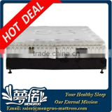 double foldable spring mattress with thin pillow top /modern bedroom bed mattress