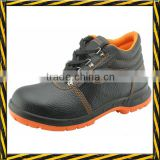 pu sole steel toe steel plate groundwork safety boots CE
