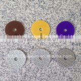 3 Step Polishing Pad 4 inch Premium Polishing Wheel Diamond Pads for Granite Marble Disc Sander Resin Abrasive Disc Dry or Wet