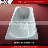 Wholesale China classic stainless steel bathtub,enameled classic stainless steel bathtub,1520mm enamel steel bathtub
