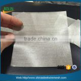Alibaba Best seller 100 Mesh 0.1mm 200 Mesh 0.05mm Pure Silver Metallic Mesh Fabric