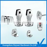KOYUET Other Furniture Parts Manufacturer Bathroom Partitions Zinc Alloy Toilet Cubicle Accessories