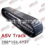 ASV posi track 280*101.6*37 Heavy Duty Aftermarket Rubber Tracks for Multi Terrain Loaders C247 247B C257 257B ASV RC50 RC60