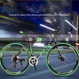 High carbon steel frame 700C 24 speed road bicycles                                                                         Quality Choice