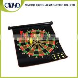 Full color printing customize double-side safety magnet dartboard magnetic dart board for kids gift