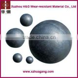 Metal mine/ Cement High Chromium Iron Cast grinding Steel Ball