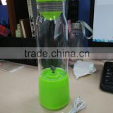 2016 Wholesaler Green Healthy 380ML portable smart juice cup with USB, vegetable smart juicer cup with good quality !