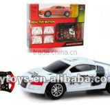 1:36 4 channels MOTORSENSOR IR car Radio control toy car toys electric toy car kids plastic toy factory China car baby