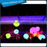 Led party throw ball,color changing giant led light balloon for Party/event.stage decorations