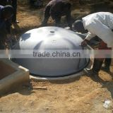 China PUXIN Hydraulic Pressure High Reliable Family Size Biogas Digester Design for Family with 1-100 Pigs