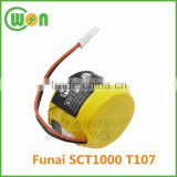 Ni-MH 3.6V 250mAh rechargeable cordless phone replacement battery for Funai SCT1000 T107 GP T107