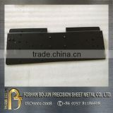 China supplier cnc machinery customized sheet metal powder coated black steel enclosure parts