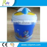 Bird head popcorn plastic bucket with customed printing