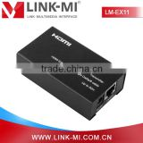 LM-EX11 50m HDMI Extender over Cat5e x1 with EDID Copy Function