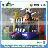 2016 new design China Sunjoy Inflatable Basketball sports combo castle Combo with slide for Sale outdoors