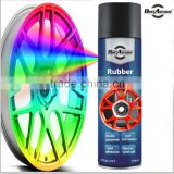 Car peelable silicone rubber paint Removable spray Rubber spray paint