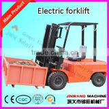 electric forklift 1ton/high quality battery for electric forklift/energy saving hand hydraulic forklift