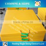 customized UHMWPE crane outrigger pads/crane foot bearing support/Heavy duty uhmwpe mats