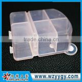 carton shape clear PP beauty organizer box