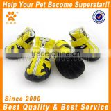 JML pet accessories wholesale china PU leather nike dog shoes with rubber dog hunting boots