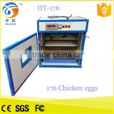 Hold 176 chicken eggs automatic egg incubator china for sale and Egg incubator made in china