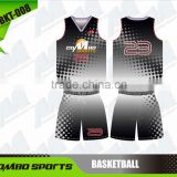 sublimated women basketball singlet and shorts