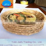 now hot sale Barbecue bamboo basket tray