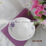 white porcelain salad bowl,ceramic noodles bowl,porcelain bowl-020