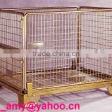 collapsible Pallet wire mesh stillage container(gabion box)