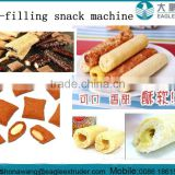 chocolate/cream/peanut butter core filling cereal snack stick making machine processing equipment