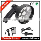 JGL New product CREE 27W LED Handheld Spotlgiht rechargeable 2200lm led security torch for police