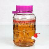 Mason Jar 1L/2L/3L/4L/5L/8L/10L/12L/15/20L/25L, Glass Beverage Dispenser Drink Server Gift Wedding Party