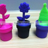 Diffuser Strainer Silicone Flower Pot Tea Leaf Infuser