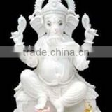 Ganesh Murti from Makrana Marble Statue, Awesome Marble Ganesh Statue