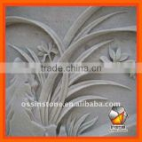 Popular Carved Natural Stone Decoration Wall Relief