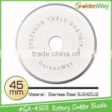 Household DIY Fabric Rotary Blade and Stainless Steel SUS420J2 Straight Carpet Cutter Blade