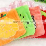 Warming PVC material cute hot water bag with low price