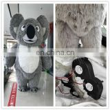 HI CE customized koala inflatable mascot costume in 2 meter 3 meters for adult size,animal mascot costume with high quality