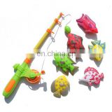 Magnetic Fishing Game Playset Six Fishes One Fishing Rod